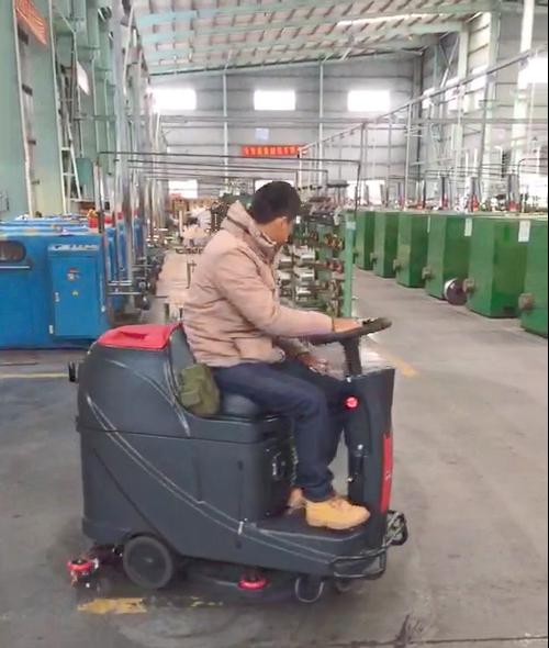 鹤山市***线材有限公司订购威霸全自动洗地机案例