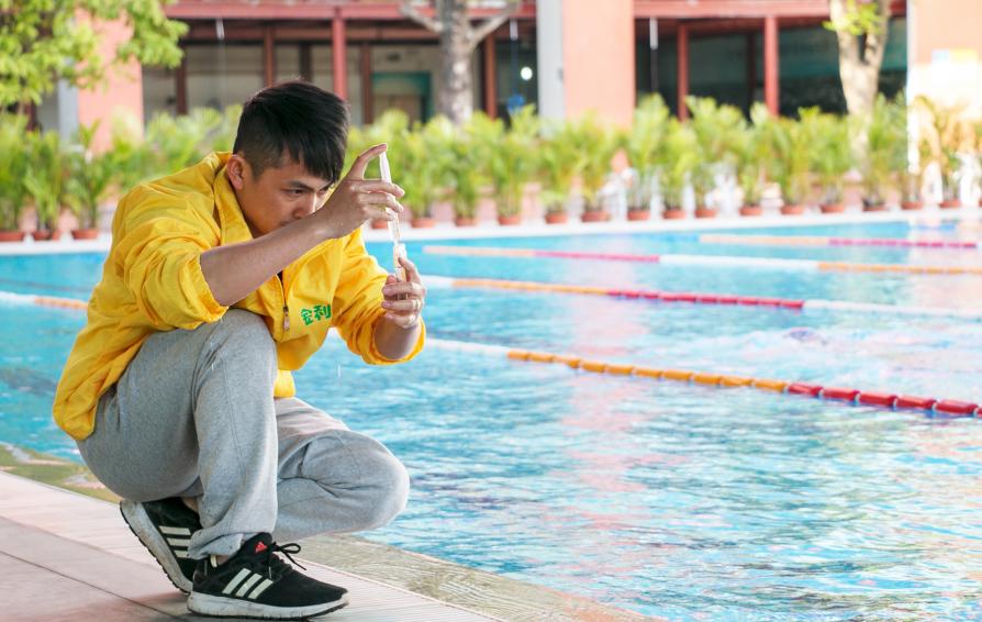 露天室外游泳池水质应该要怎么处理?