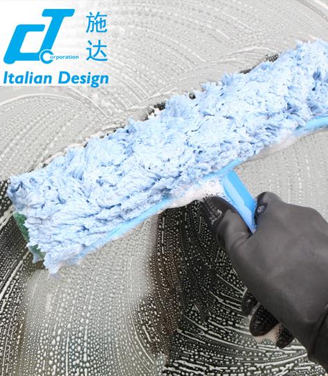 意大利CT施达 超细纤维涂水器 玻璃清洁工具 擦窗器