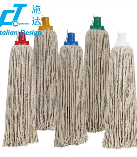 意大利CT施达 高质棉圆拖头 不掉毛圆地拖头 拖把配件 替换拖布头