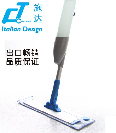 意大利CT施达 SME 100 抗菌超细纤维喷拖平板平推拖把 铝板尘推