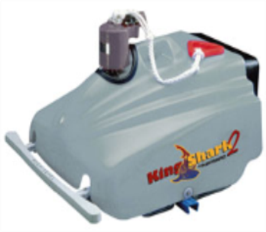 KingShark2帝鲨2型(皇帝)泳池吸污机水龟