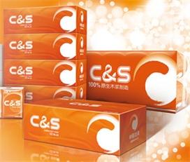 洁柔(C&S)抽纸面纸柔韧系列3层180抽抽式面巾纸*4盒天然无香