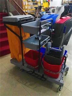 金利洁多功能清洁车、 专业清洁车、 保洁车、餐厅餐具车