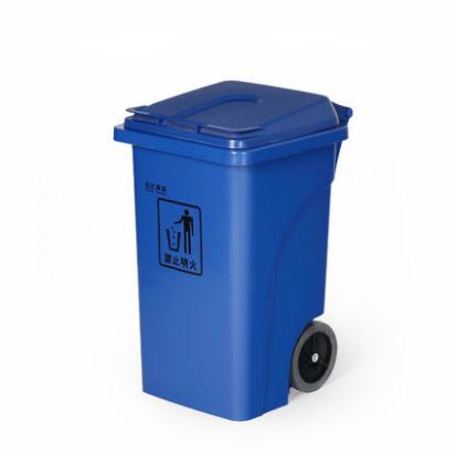 白云清洁室外环卫脚踏垃圾桶户外垃圾