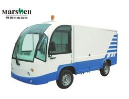 八桶封闭驳运车-电动环卫车(DT1.2-D1)