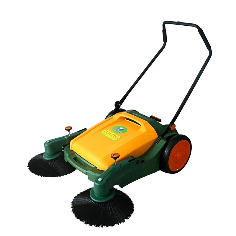 亚欧洁美JM980手推式扫地车